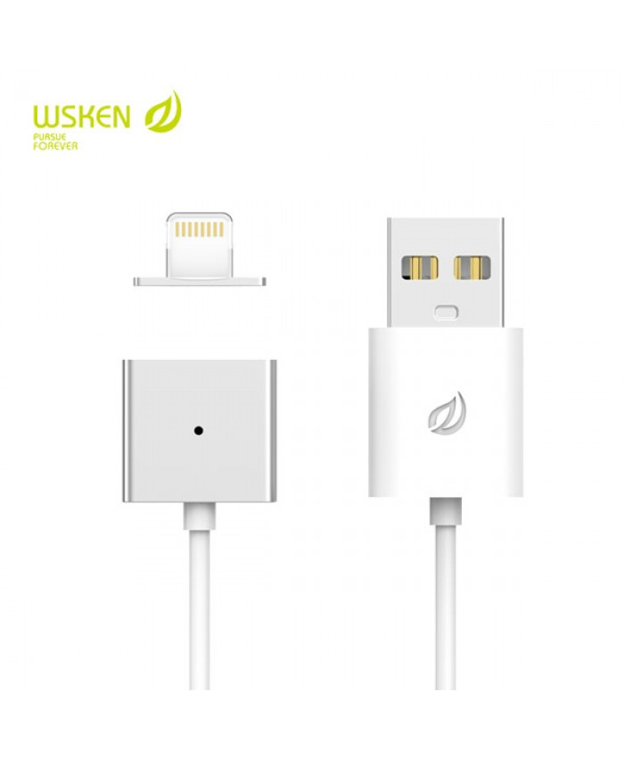 WSKEN Single Metal Magnetic Lightning Fast Charging X-Cable